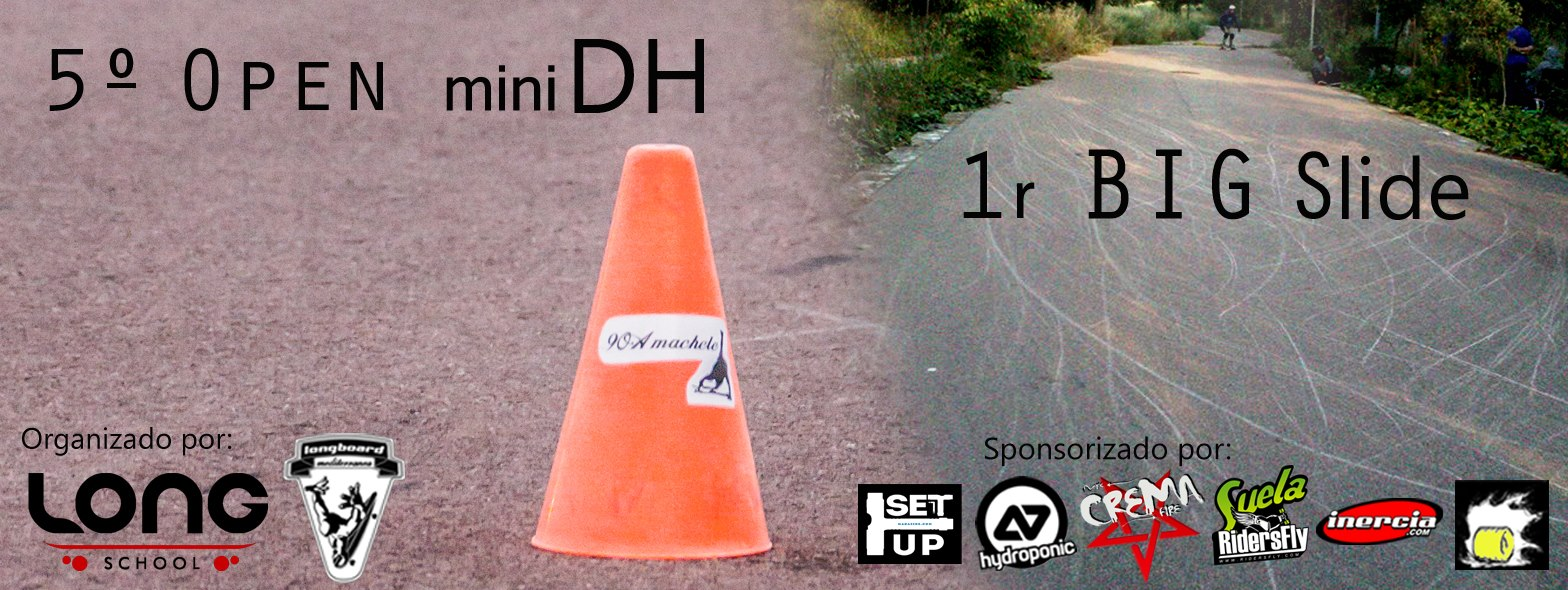 5º open mini dh 1º big slide