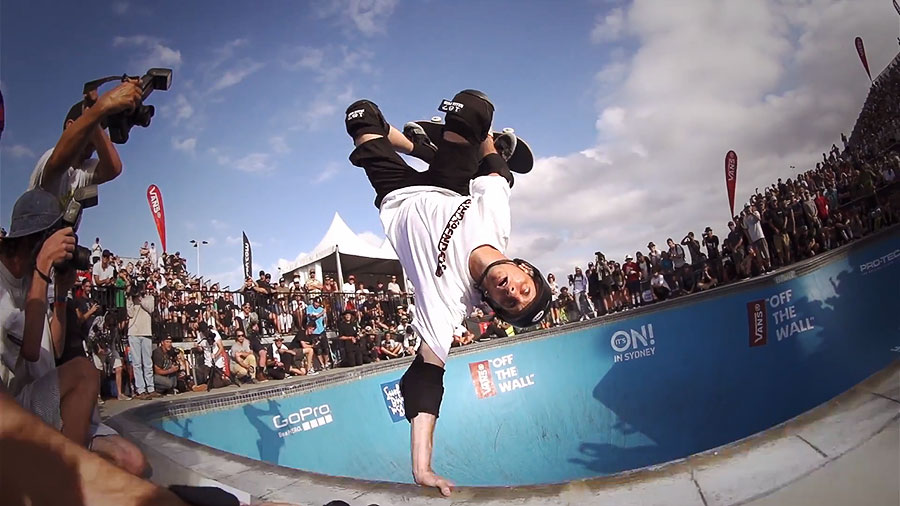Tony Hawk. Bowl-A-Rama Bondi Beach 2014