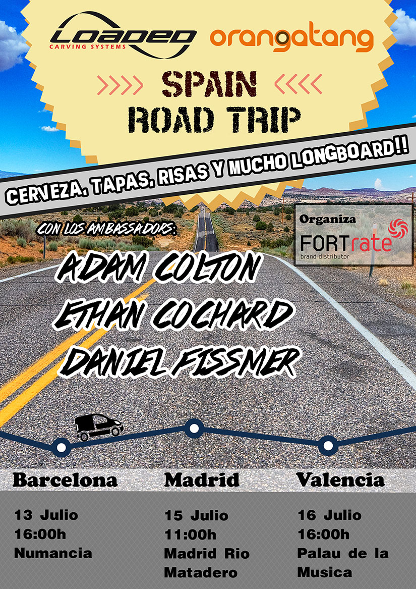 Spain Road Trip: Adam Colton Ethan Daniel Fissmer