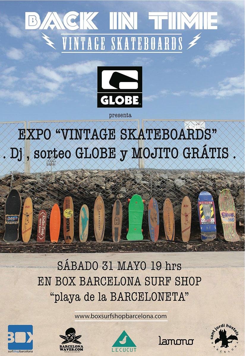 Back in time - Expo vintage Skateboards