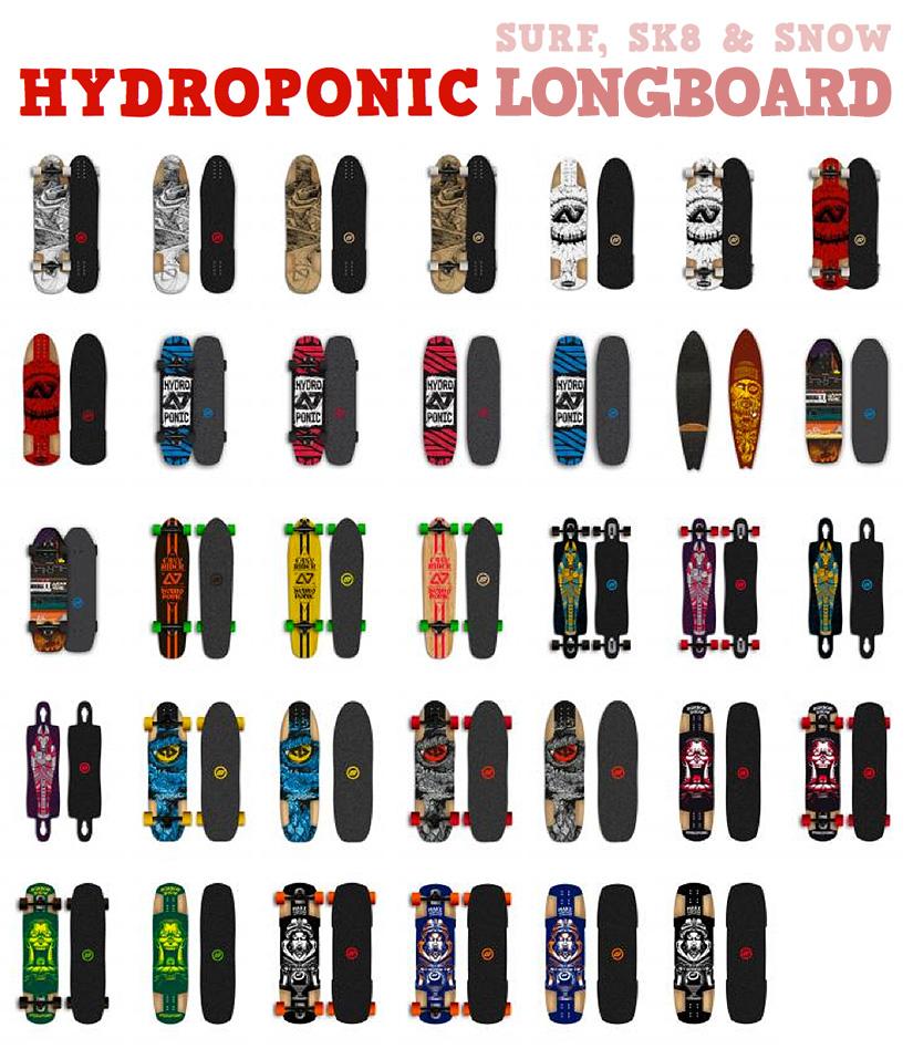 Hydroponic Longboard 2014