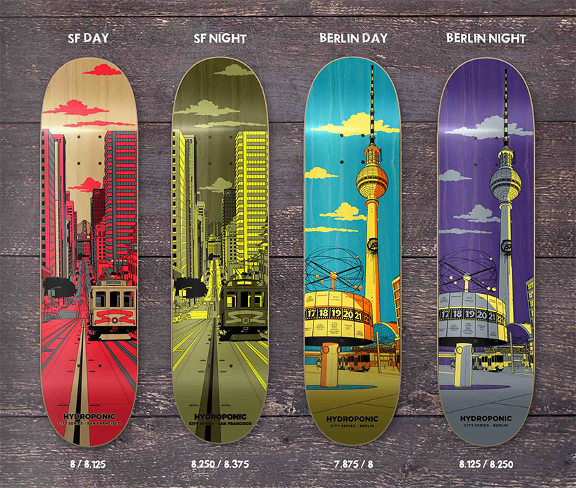 Hydroponic Skate Cities