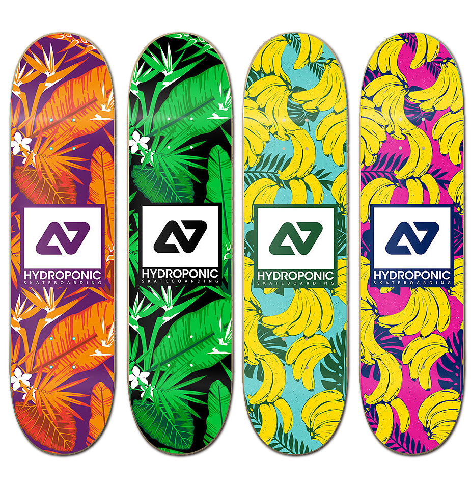 Hydropponic Skateboards Tropical Series