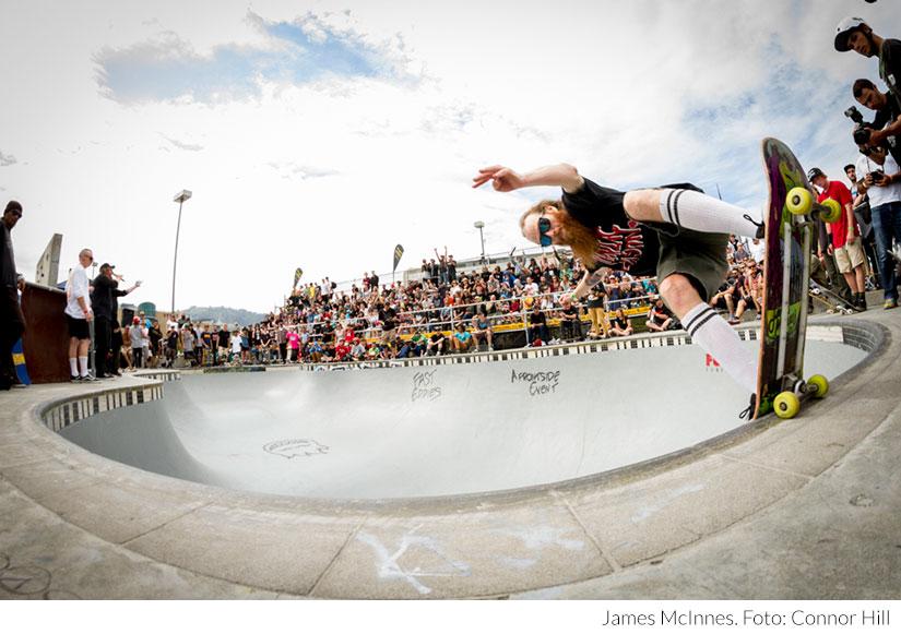 James McInnes. Foto Connor Hill