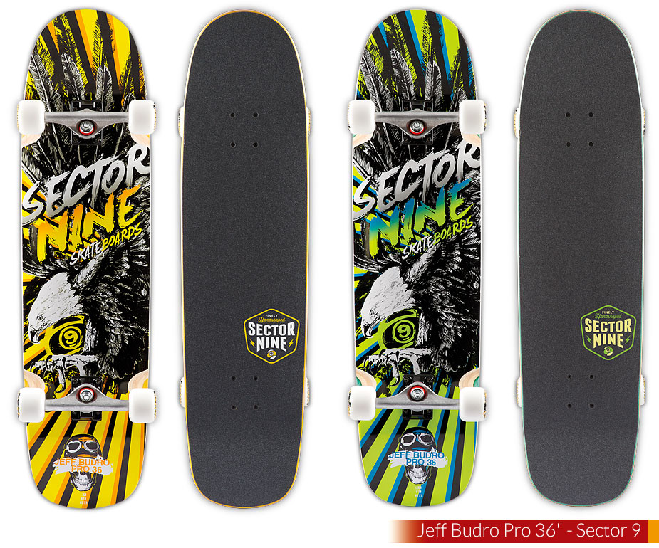 Jeff Budro Pro 36-Sector 9