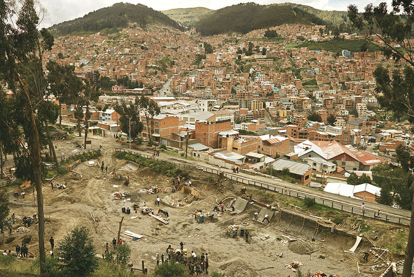 Levis Skateboarding DIY Bolivia