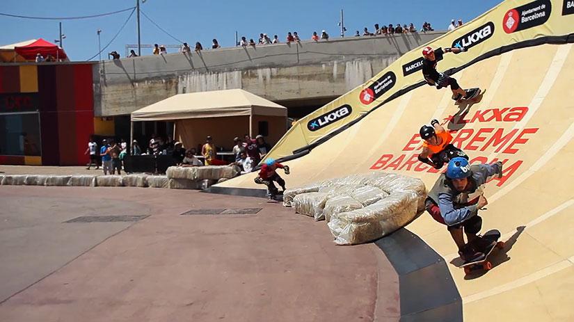 Longboard Cross Extreme Barcelona