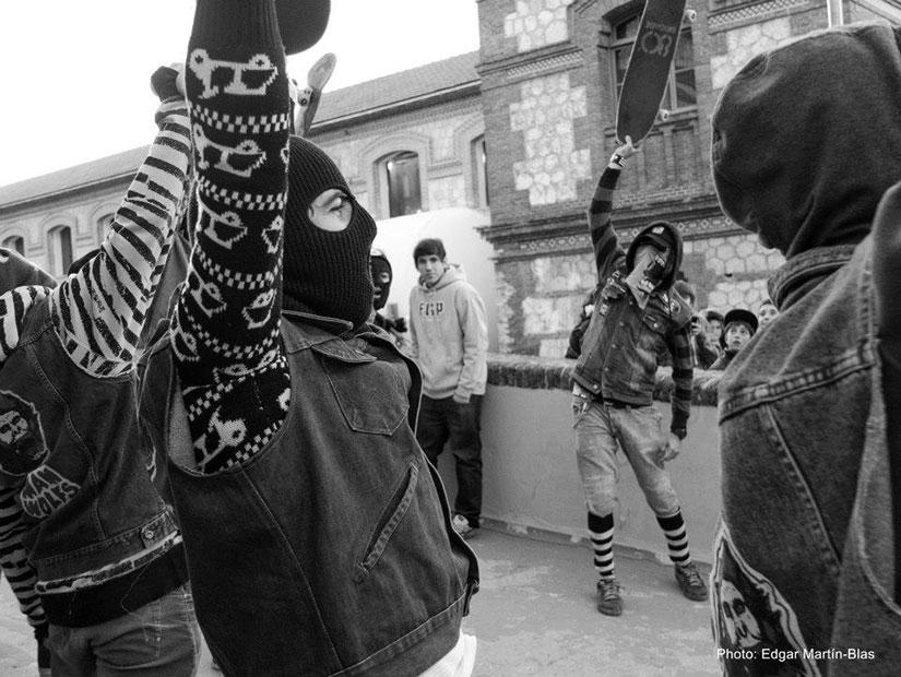Los Manwolfs en el Madrid Skate Film Festival