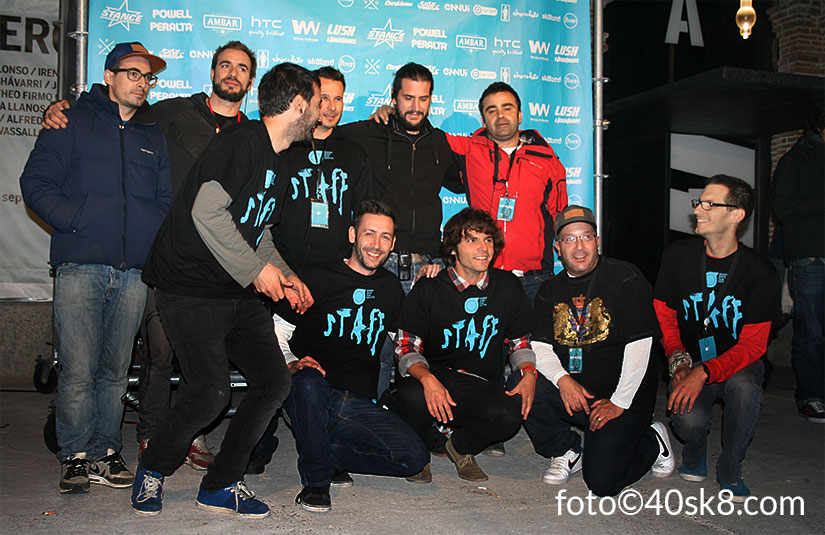 Madrid Skate Film Festival 2012 Staff