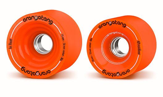 40sk8 Ruedas Orangatang Aluminum Core Race Wheels