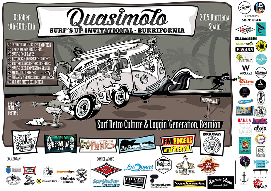 Quasimoto Surf's Up Invitational Burriana 2015