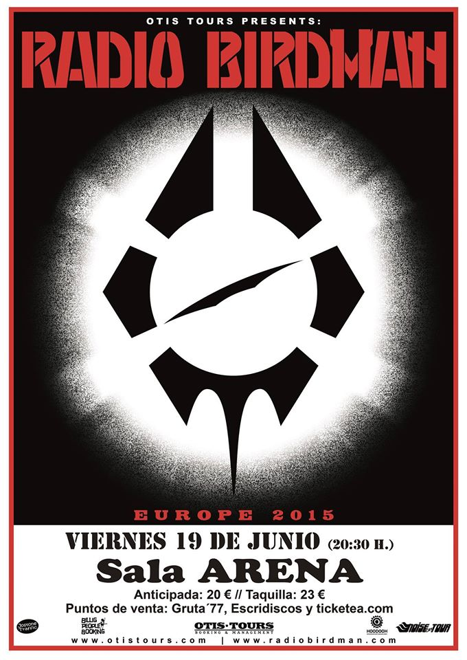 Radio Birdman Madrid Gruta 77