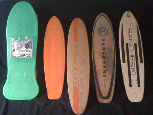 Sancheski Skateboards