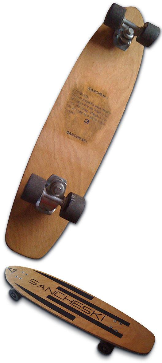 Sancheski Laminado skateboard