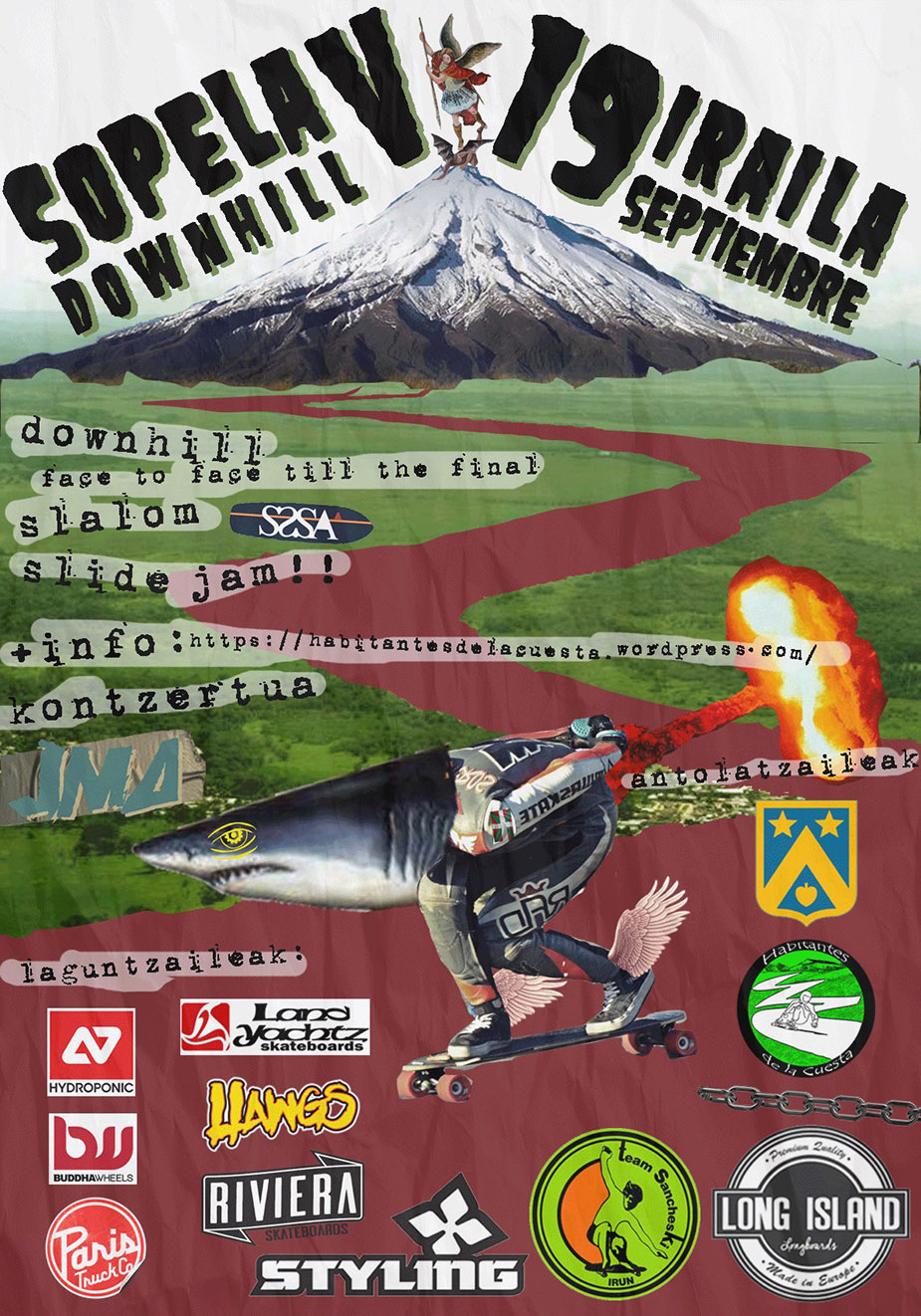 V Sopelana Downhill 2015