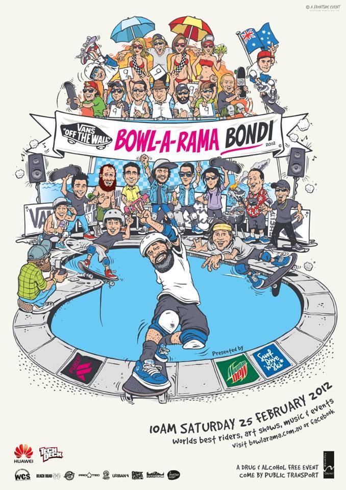 bowl a rama bondi 2014