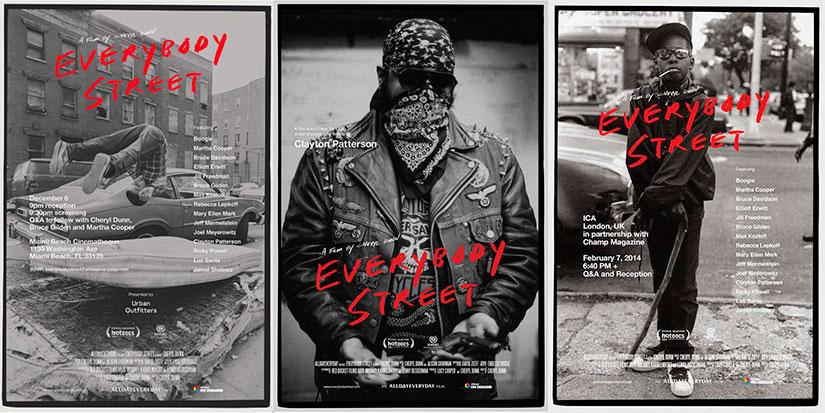 documental everybodystret.  MOMENTS 2014