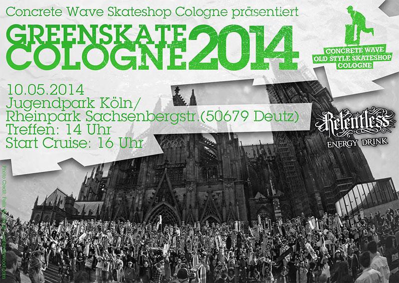 Greenskate Cologne 2014