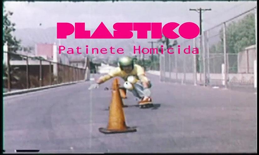 Plástico: Patinete Homicida