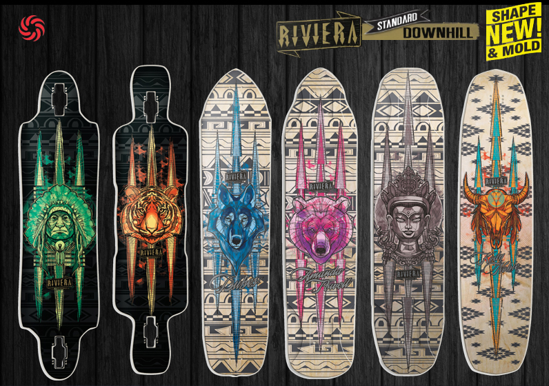 Riviera Skateboards Downhill