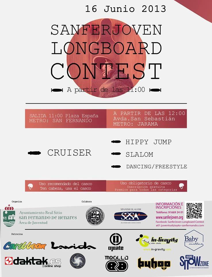 SanferJoven Longboard Contest Junio 2013