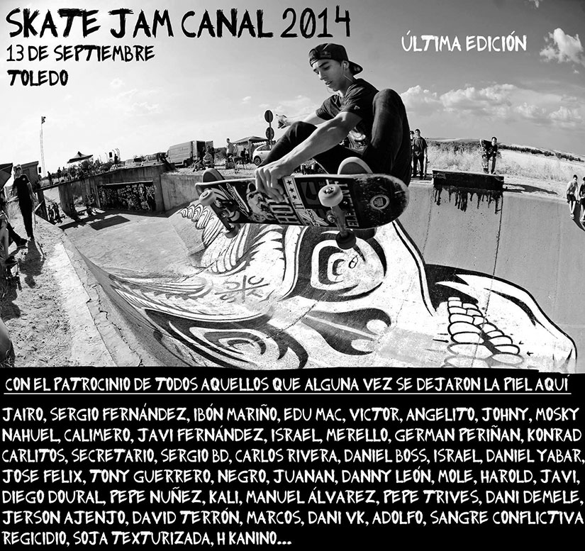 Skate Jam Canal 2014