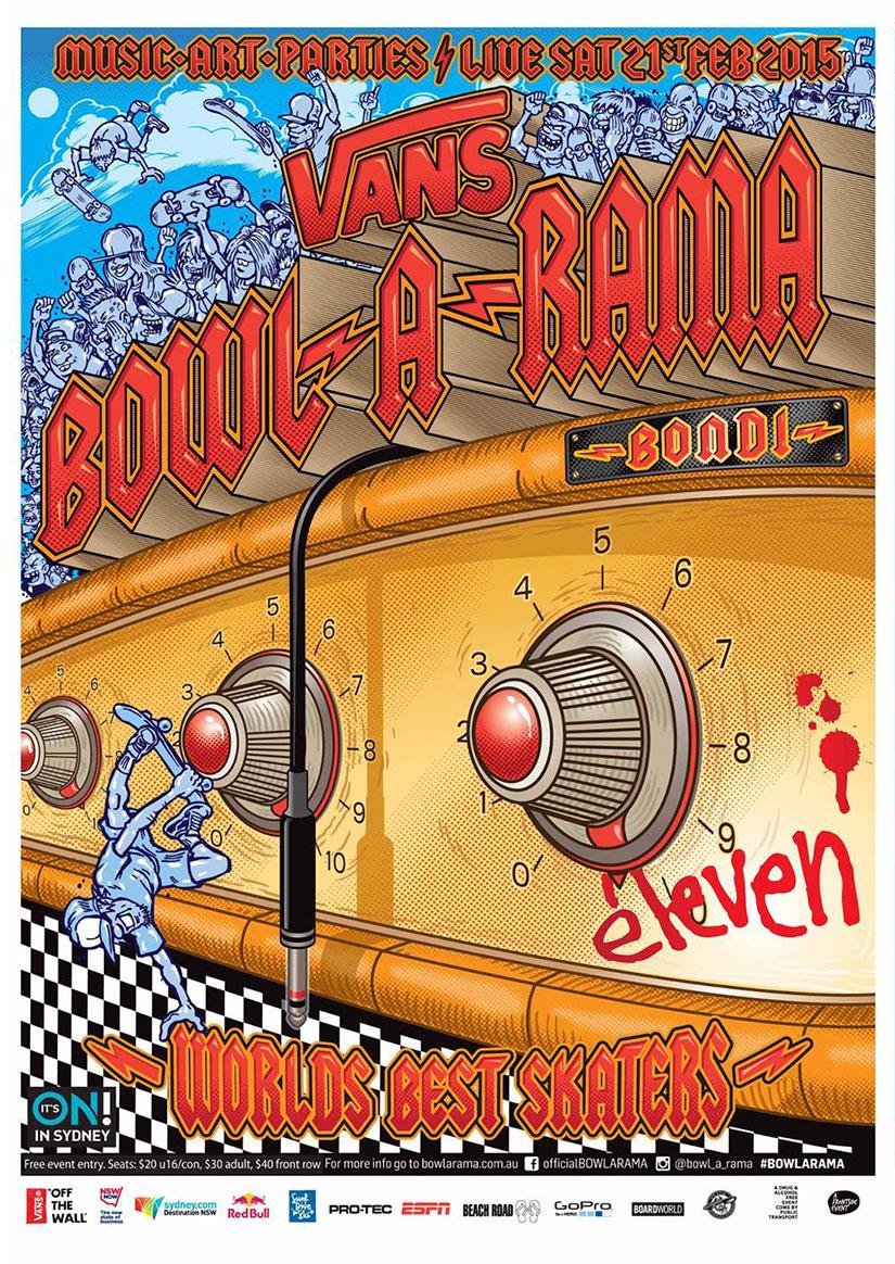 40sk8 Vans BOWL-A-RAMA Bondi 2015