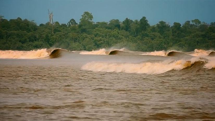 Bono River in Indonesia