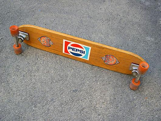 Skateboard salto de altura