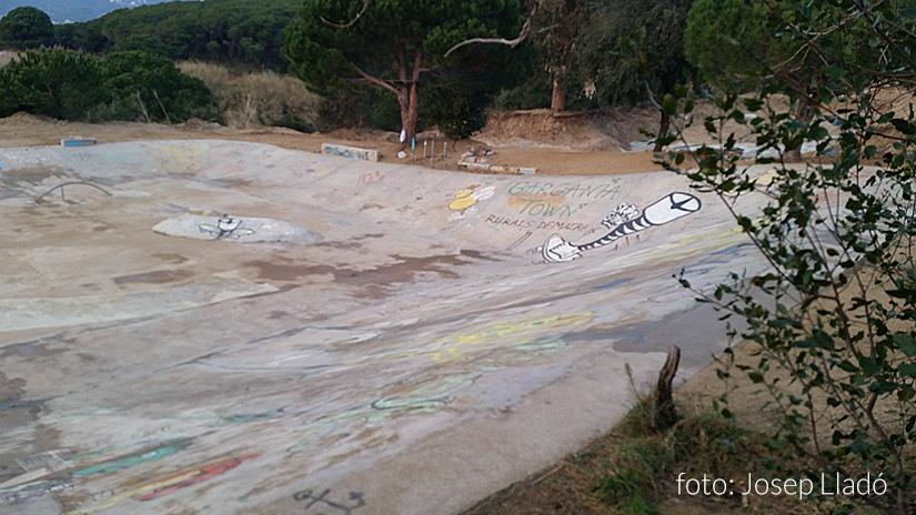 Desentierro Skatepark Arenys de Munt